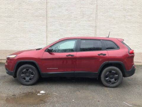 2017 Jeep Cherokee for sale at WESTON FORD  INC in Weston WV