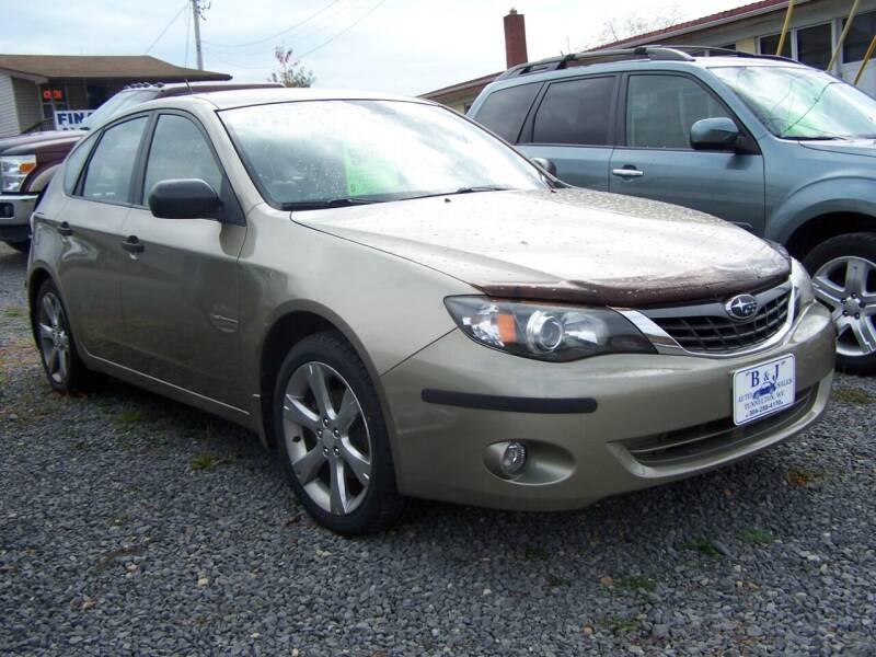 2008 Subaru Impreza for sale at B & J Auto Sales in Tunnelton WV