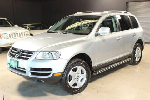 2007 Volkswagen Touareg for sale at AUTOLEGENDS in Stow OH