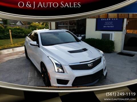 2016 Cadillac ATS-V for sale at O & J Auto Sales in Royal Palm Beach FL