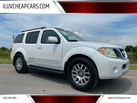 2009 Nissan Pathfinder for sale at ILUVCHEAPCARS.COM in Tulsa OK