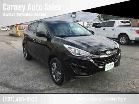 2015 Hyundai Tucson for sale at Carney Auto Sales in Austin MN