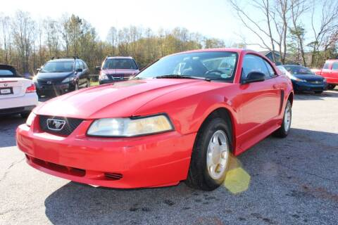 2000 Ford Mustang for sale at UpCountry Motors in Taylors SC