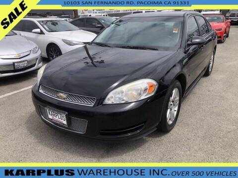 2013 Chevrolet Impala for sale at Karplus Warehouse in Pacoima CA