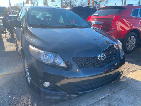 2009 Toyota Corolla for sale at GRAND USED CARS  INC in Little Ferry NJ