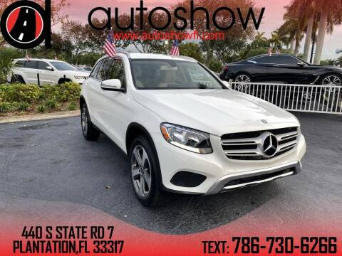 2017 Mercedes-Benz GLC for sale at AUTOSHOW SALES & SERVICE in Plantation FL