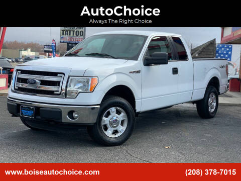 2013 Ford F-150 for sale at AutoChoice in Boise ID