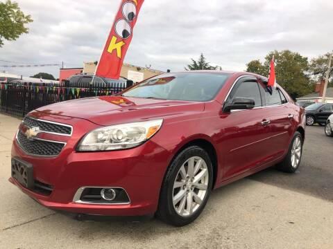 2013 Chevrolet Malibu for sale at Crestwood Auto Center in Richmond VA