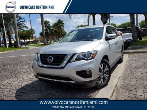 2018 Nissan Pathfinder for sale at Volvo Cars North Miami in Miami FL