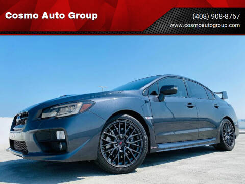 2017 Subaru WRX for sale at Cosmo Auto Group in San Jose CA