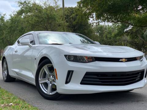 2018 Chevrolet Camaro for sale at HIGH PERFORMANCE MOTORS in Hollywood FL