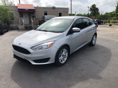 2017 Ford Focus for sale at Saipan Auto Sales in Houston TX