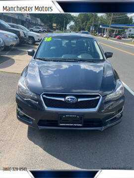 2016 Subaru Impreza for sale at Manchester Motors in Manchester CT
