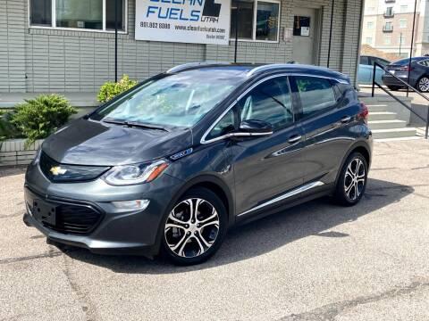 2018 Chevrolet Bolt EV for sale at Clean Fuels Utah - SLC in Salt Lake City UT