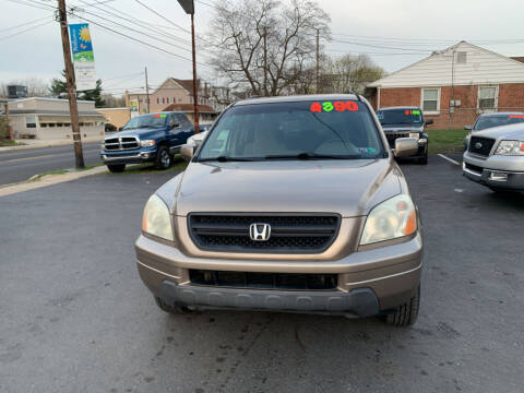 2003 Honda Pilot for sale at Roy's Auto Sales in Harrisburg PA