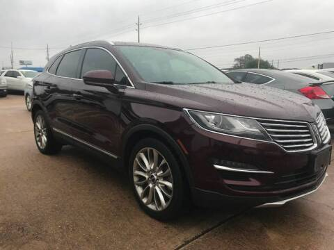 2016 Lincoln MKC for sale at Discount Auto Company in Houston TX