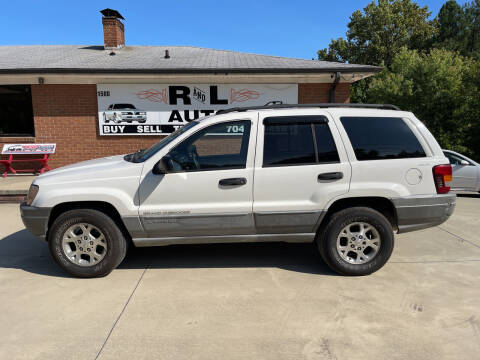 1999 Jeep Grand Cherokee for sale at R & L Autos in Salisbury NC