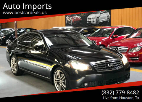 2006 Infiniti M35 for sale at Auto Imports in Houston TX