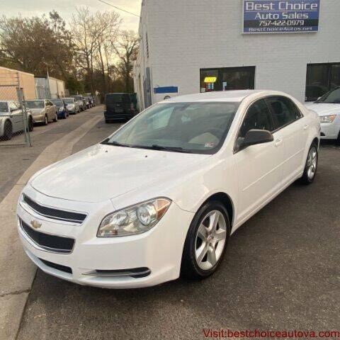 2012 Chevrolet Malibu for sale at Best Choice Auto Sales in Virginia Beach VA