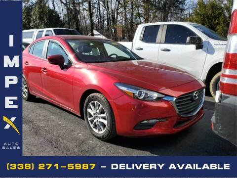 2018 Mazda MAZDA3 for sale at Impex Auto Sales in Greensboro NC