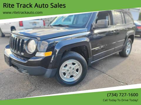 2011 Jeep Patriot for sale at Rite Track Auto Sales in Wayne MI