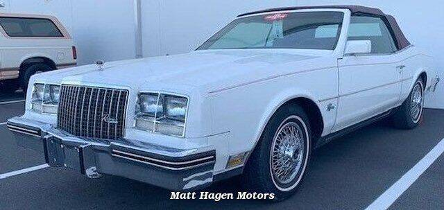 1983 Buick Riviera for sale at Matt Hagen Motors in Newport NC