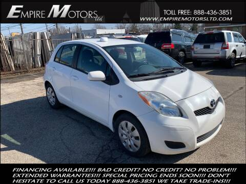 2009 Toyota Yaris for sale at Empire Motors LTD in Cleveland OH