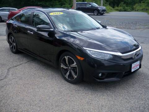 2016 Honda Civic for sale at Charlies Auto Village in Pelham NH