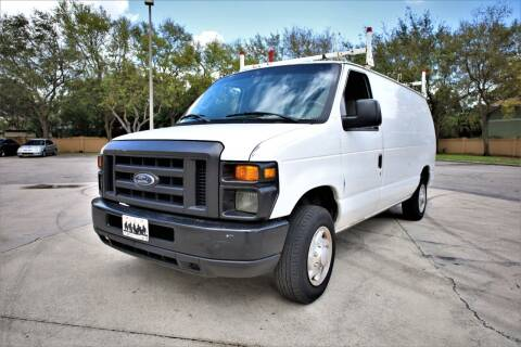 2008 Ford E-Series Cargo for sale at Easy Deal Auto Brokers in Hollywood FL