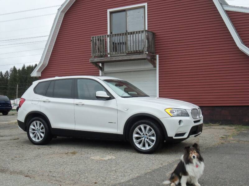 2013 BMW X3 for sale at Red Barn Motors, Inc. in Ludlow MA