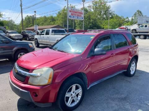 2005 Chevrolet Equinox for sale at INTERNATIONAL AUTO SALES LLC in Latrobe PA