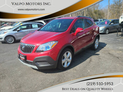 2016 Buick Encore for sale at Valpo Motors Inc. in Valparaiso IN