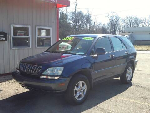 2002 Lexus RX 300 for sale at Midwest Auto & Truck 2 LLC in Mansfield OH