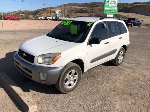 2002 Toyota RAV4 for sale at Hilltop Motors in Globe AZ