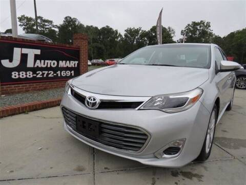 2013 Toyota Avalon for sale at J T Auto Group in Sanford NC