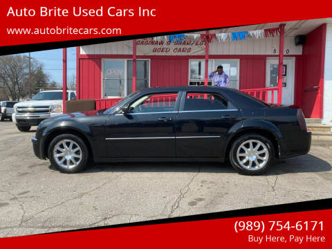 2008 Chrysler 300 for sale at Auto Brite Used Cars Inc in Saginaw MI