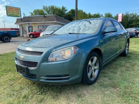 2009 Chevrolet Malibu Hybrid for sale at Cash Car Outlet in Mckinney TX