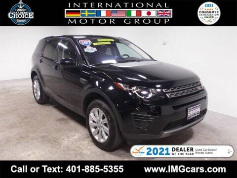 2017 Land Rover Discovery Sport for sale at International Motor Group in Warwick RI