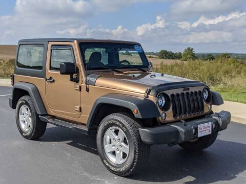 2015 Jeep Wrangler for sale at Bob Walters Linton Motors in Linton IN