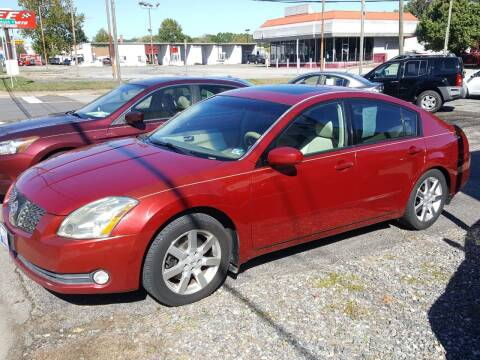 2004 Nissan Maxima for sale at Premier Auto Sales Inc. in Newport News VA