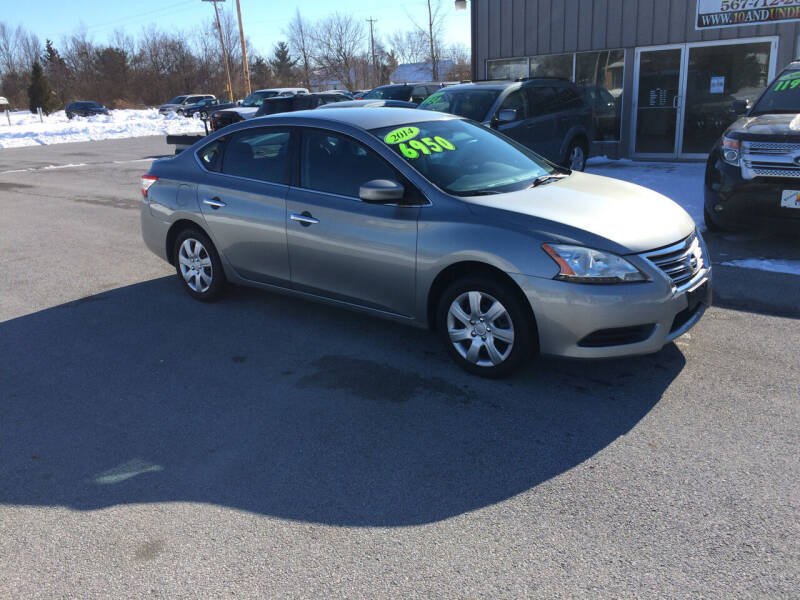 2014 Nissan Sentra for sale at KEITH JORDAN'S 10 & UNDER in Lima OH