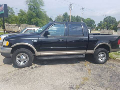 2001 Ford F-150 for sale at David Shiveley in Mount Orab OH