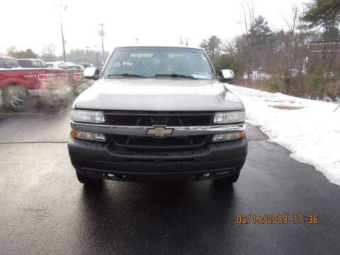 2002 Chevrolet Silverado 2500HD for sale at Heritage Truck and Auto Inc. in Londonderry NH