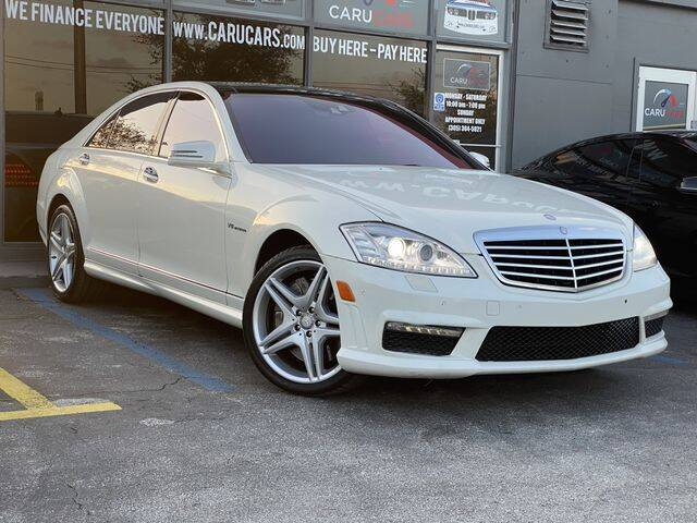 2013 Mercedes-Benz S-Class for sale at CARUCARS LLC in Miami FL