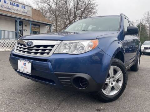 2013 Subaru Forester for sale at Mega Motors in West Bridgewater MA