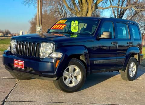 2012 Jeep Liberty for sale at SOLOMA AUTO SALES in Grand Island NE