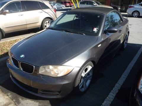 2008 BMW 1 Series for sale at Credit Cars LLC in Lawrenceville GA