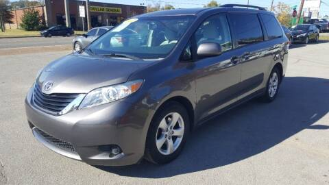 2012 Toyota Sienna for sale at A & A IMPORTS OF TN in Madison TN