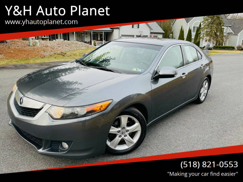 2010 Acura TSX for sale at Y&H Auto Planet in West Sand Lake NY