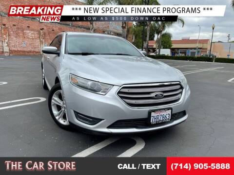 2013 Ford Taurus for sale at The Car Store in Santa Ana CA